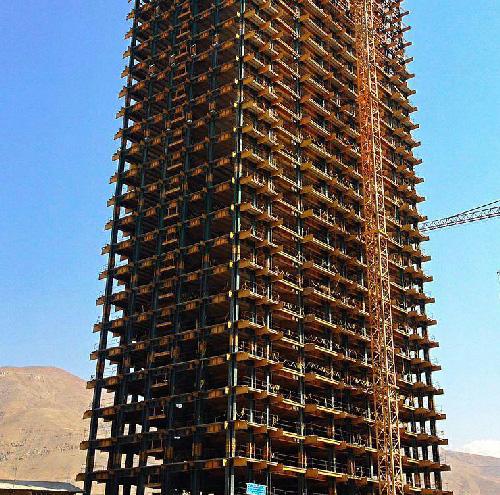 اجرای اسکلت فلزی در اصفهان