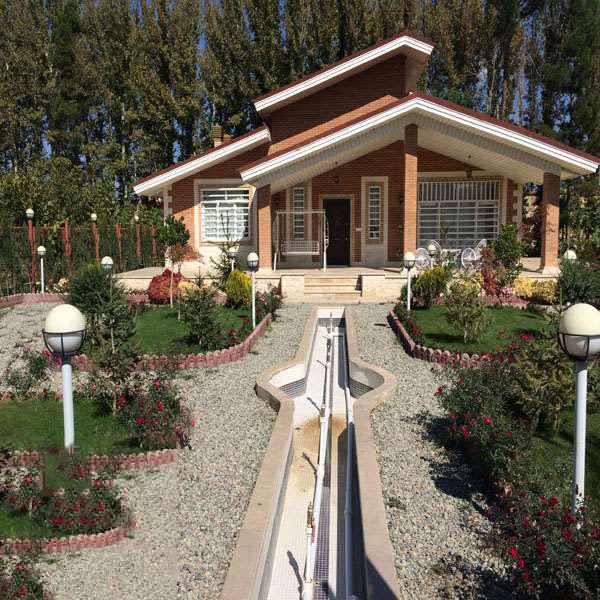 طراحی باغ ویلا در اصفهان